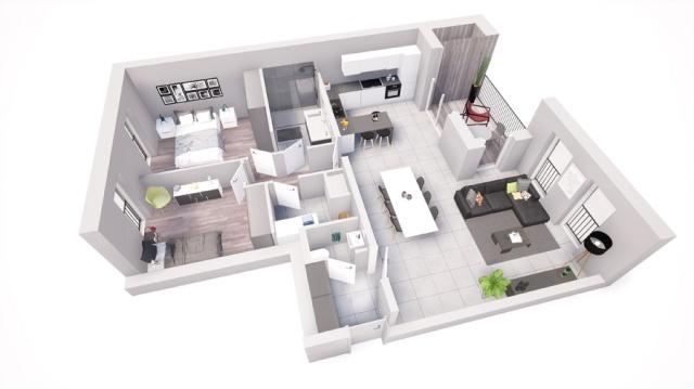 Shoebox appartement